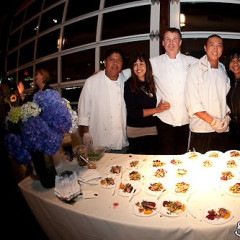New Yorkers Feast With Famous Faces At Pier 61 Lighthouse
