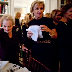 Tina Brown Hosts Luncheon For Madeleine Albright's New Book: