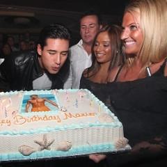 Mario Lopez Celebrates His 36th Birthday In Atlantic City