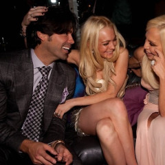 Photo Of The Day: Lindsay Lohan And Donatella Versace Forgo Mirrors For Each Other