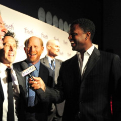 Alec Baldwin And Ron Howard Share a Laugh At Tisch Gala