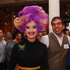 8th Annual GLAAD OUTAuction Fundraiser Honors Ross Bleckner