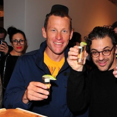 Lance Armstrong And Nike Hosts Opening Reception For