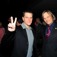 Matt Damon And Viggo Mortensen Speak For Social Change