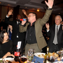 Photo Of The Day: Bono And Wyclef Show The Kennedys How To Party