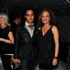 DVF Hosts The Fashion Gliterrati At Tatler's 300th Anniversary
