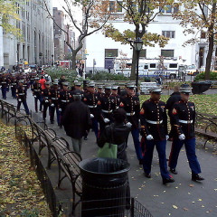 Photo Of The Day: The Marines Marching To Shake Shack