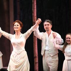 Catherine Zeta Jones Takes Her First Broadway Bow