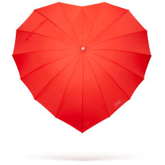 The Best Guests Come Bearing Gifts...The Heart Umbrella