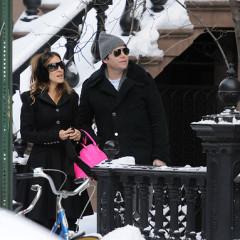 Sarah Jessica Parker And Matthew Broderick: Walking In A Winter Wonderland