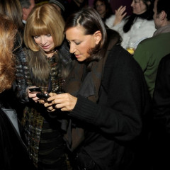 Anna Wintour, Donna Karan, and Diane von Furstenberg Can't Believe What Gossip Girl Just Posted