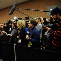 James Franco Works The Crowd At Sundance