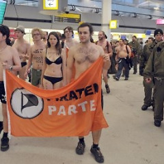 Berliners Pretend To Need Reason To Get Naked In Public