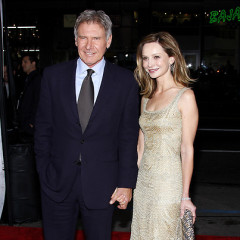 Harrison Ford And Calista Flockhart Attend Extraordinary Measures Premiere