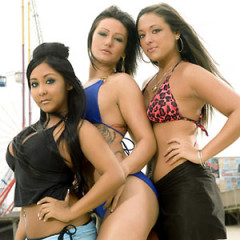 Daily Style Phile: The Ladies of Jersey Shore