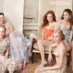 Young Starlets Grace The Cover Of Vanity Fair