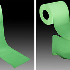 The Best Guests Come Bearing Gifts...Glow-In-The-Dark Toilet Paper
