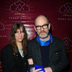 Patti Smith And Michael Stipe At Tibet House Concert At Carnegie Hall