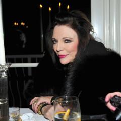 Joan Collins Throws Coke Heir, Alex Hitz, A Birthday Party