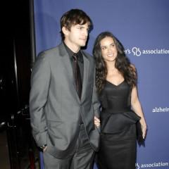Ashton Kutcher And Demi Moore At 'A Night At Sardi's'