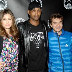 Jessica Biel, Lupe Fiasco Premiere MTV's 'Summit' At The Tribeca Grand