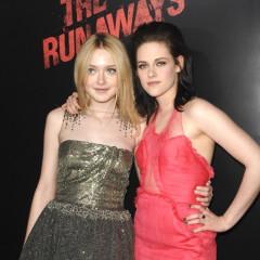 Kristen Stewart Flies Solo At Runaways Premiere