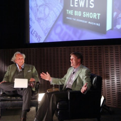 Graydon Carter Interviews Michael Lewis At The MOMA