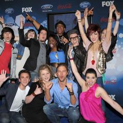 Idol's Top 12 Celebrates Getting America's Vote!