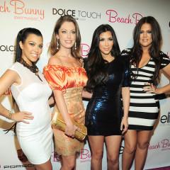 Kardashian Sisters Host Grand Opening Of Beach Bunny Swimwear