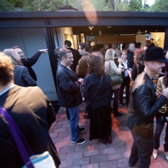 One And J. Gallery Draw L.A. Art Crowd To Pierre Koenig House In The Hills