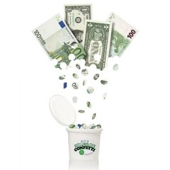 The Best Guests Come Bearing Gifts: Millionaire Confetti
