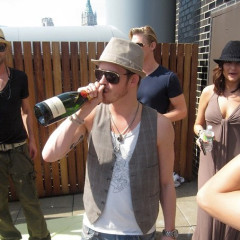 Rooftop Parties Make Everyone Burnt And Happy
