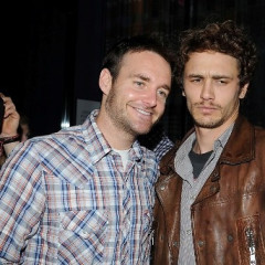 James Franco Goofs Around With Will Forte At Tribeca
