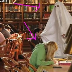 Ghostbusters Invade The Public Library, New Yorkers Could Not Care Less