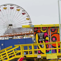 Santa Monica's Beach Gets Three New Colorful Lifeguard Towers