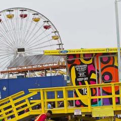 Santa Monica's Beach Gets Three New Colorful Lifeguard Towers