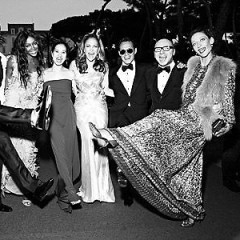 Naomi Campbell's Cannes Birthday Bash