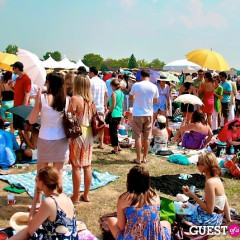 A Polo Picnic With Princes (And Veuve) On Governors Island