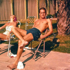 Summer Photo Of The Day: Bronzed Newman