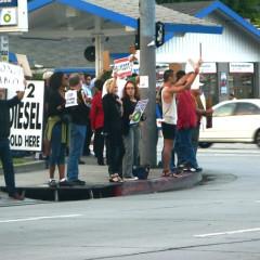 Get Up, Stand Up (At Sunset & Fairfax)!