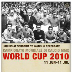 The Eats.com Giveaway: Watch The World Cup With A Free Bottle of Prosecco At Scuderia!