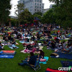 The First Outdoor Cinema Food Fest Presents