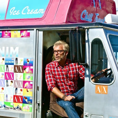 L.A. Cools Down With Ice Cream & Denim At Armani Exchange