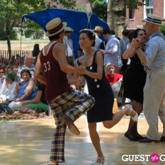 Tripping The Light Fantastic At Governors Island Jazz-Age Fête