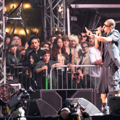 PDA (Parental Displays of Affection), Music Royalty At Jay-Z Show