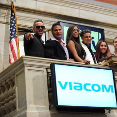 The Jersey Shore Cast Rings The NYSE Bell This Morning