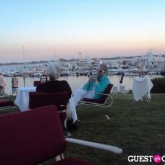 Festive Fashion Has No Age At Montauk's Harbor Lights Gala