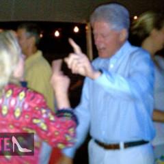 Bill Clinton Boogies In The Hamptons Till 6AM!