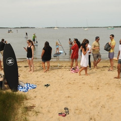 Chanel Meets Surf At Montauk's Crows Nest