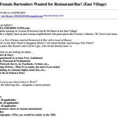 Calling All Sexy Ladies: Put Your Ambition, Social-Network Savvy To Work At Billy Hurricanes